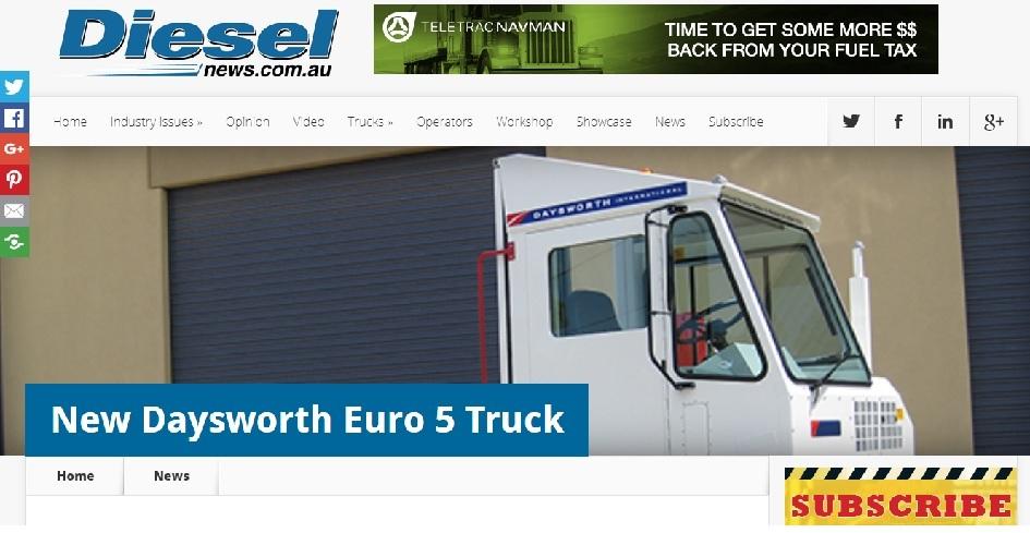 Diesel New Daysworth Euro 5