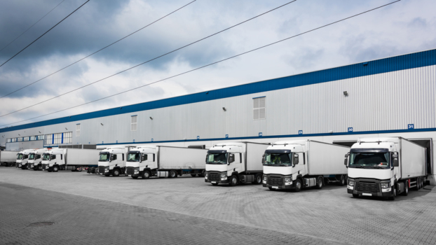 Distribution Truck Depot