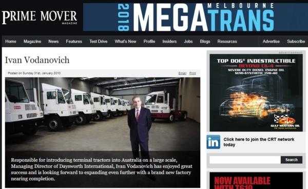 Prime Mover Feature Ivan Vodanovich