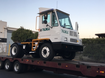 Toll Logistics Terminal Tractor Delivery